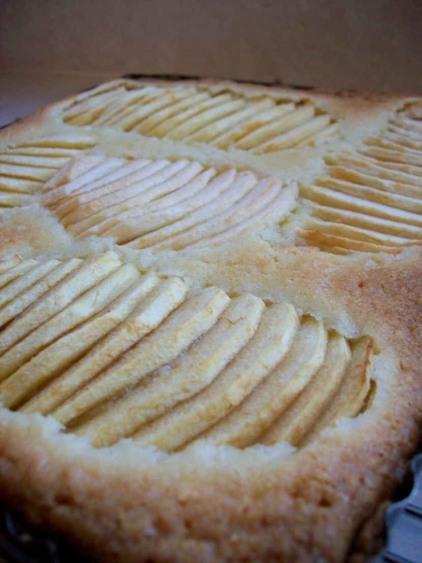French Apple and Almond Tart